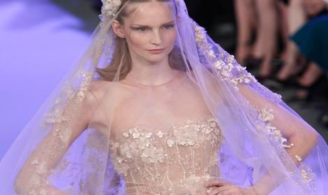 Vestido de novia alta costura ellie saab
