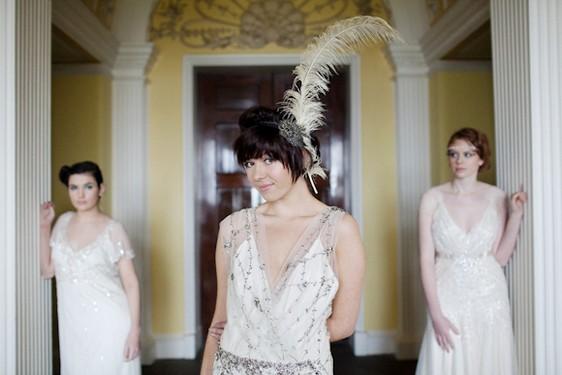 el pendiente vintage de diamantes - blog navas joyeros boda