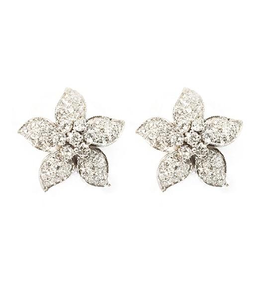 90124941ee9b Los pendientes modelo Pompeya son unos preciosos pendientes de diamantes  elaborados en Oro de Primera Ley