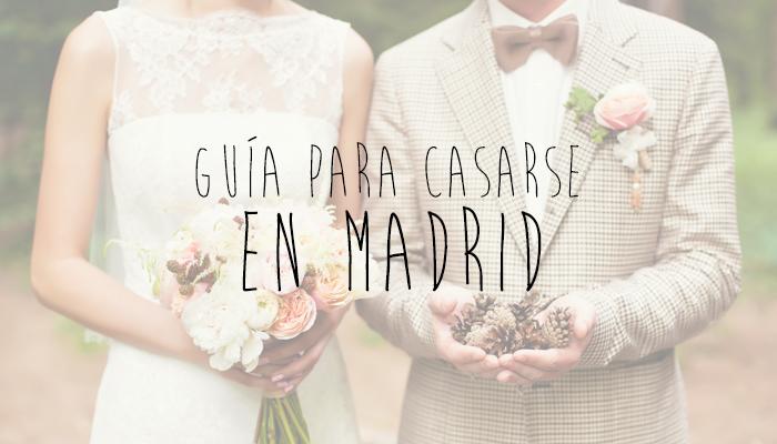 Gu a para tu boda en madrid blog navas joyeros boda for Casarse en madrid