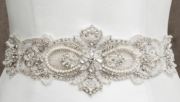 Cinturones de novia - Blog Navas Joyeros Boda 6ffdc2973940
