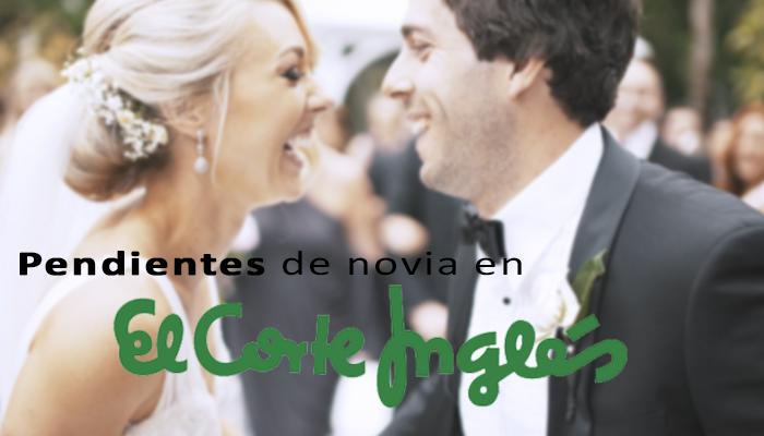 23e43ca56a50 Pendientes de boda en El Corte Inglés - Blog Navas Joyeros Boda