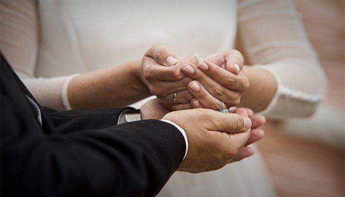 Alianzas de boda tradicionales