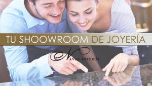 showroom de joyería Navas Joyeros Boda