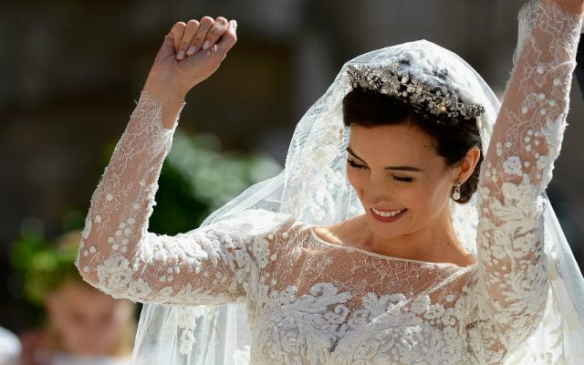 Tiaras de diamantes para lucir en tu boda