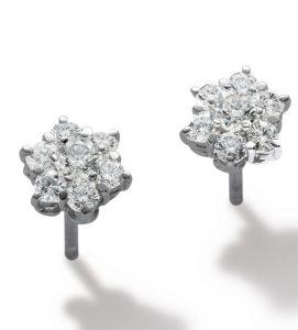 ANNA, Pendientes de diamantes