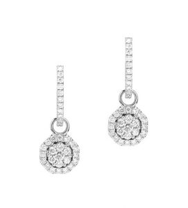 ARDNAJELA, Pendientes de diamantes