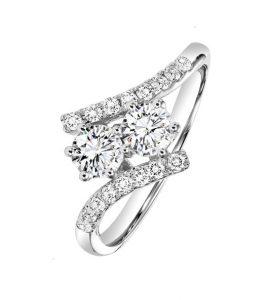 anillos de compromiso tu y yo