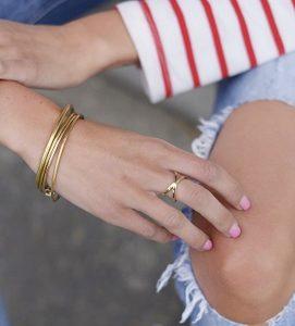 anillo de tendencia